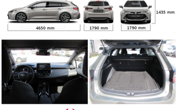 Broneeri Toyota Corolla Touring Sport (2019) ATM