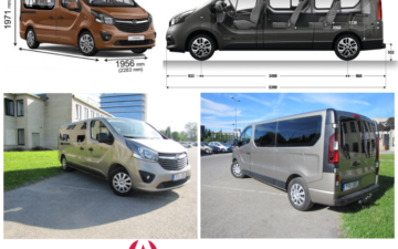 Rent Opel Vivaro Long